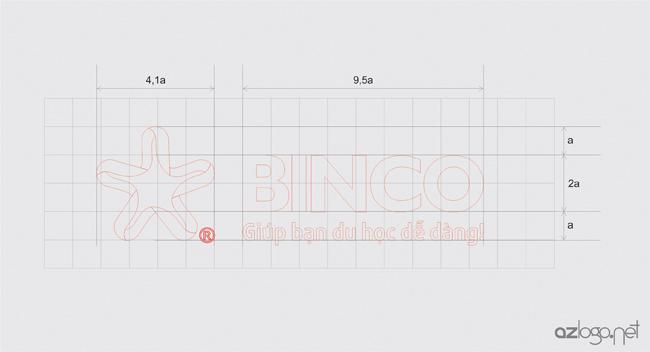 Quy chuẩn tỷ lệ thiết kế logo BINCO