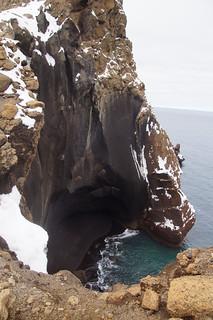 313 Deception Island - bij Neptune´s window