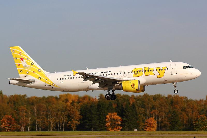 Sky - A320 - TC-SKK