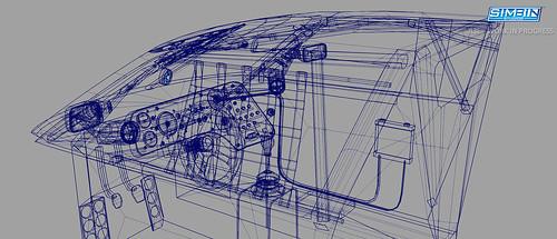 Audi 90 GTO Wireframe