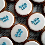 British Land Logo Cookies