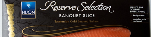 Huon Reserve Selection Smoked Salmon