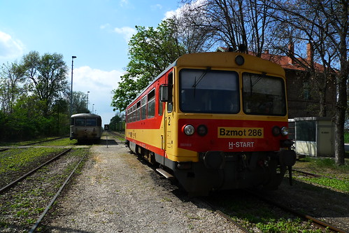 Train from Subotica, Serbia to Szeged, Hungary