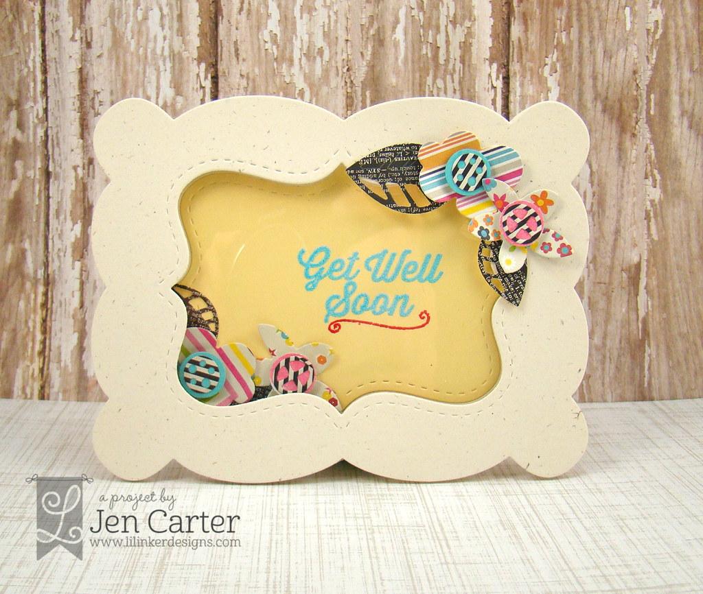 Jen Carter Frame Flowers