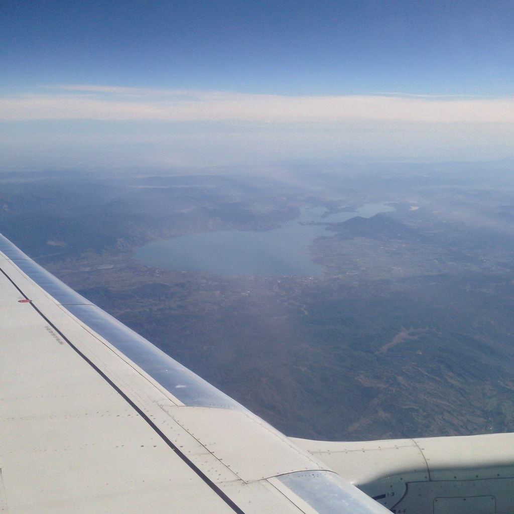 View of Clear Lake in northern California