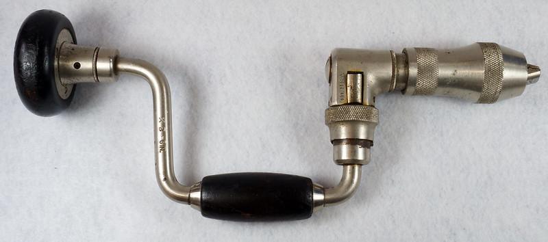 RD14631 Vintage Stanley Ratcheting Bit Brace Hand Drill x 3 - 6 DSC08859
