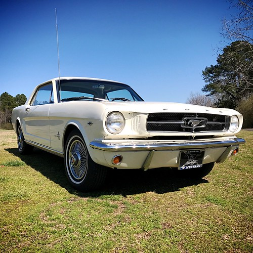 My classic 1964 1/2 Ford Mustang