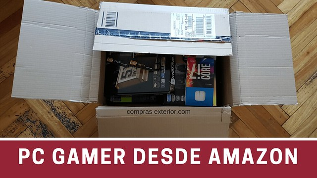armar una PC Gamer Argentina desde Amazon
