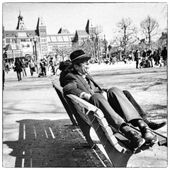 Sit down and relax @ Museumplein (Amsterdam)
