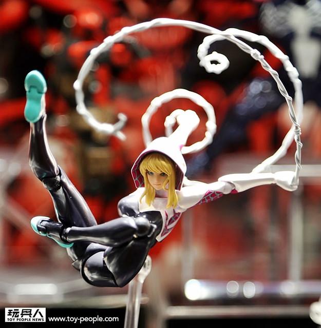 【更新官圖&販售資訊】海洋堂 AMAZING YAMAGUCHI 第四彈 「女蜘蛛人‧關」 Spider-Gwen