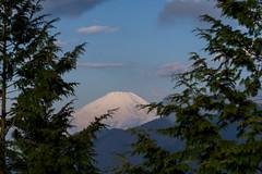 富士山!@堀山の家手前