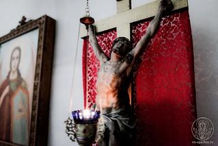 Литургия в Хутынском монастыре 345