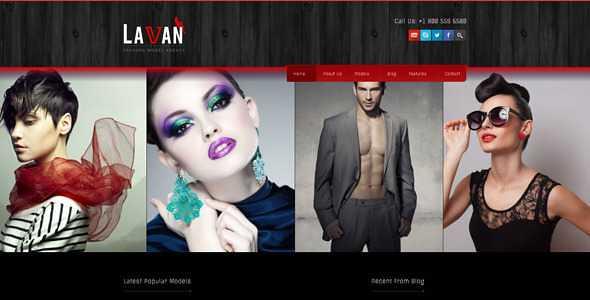 Lavan WordPress Theme free download