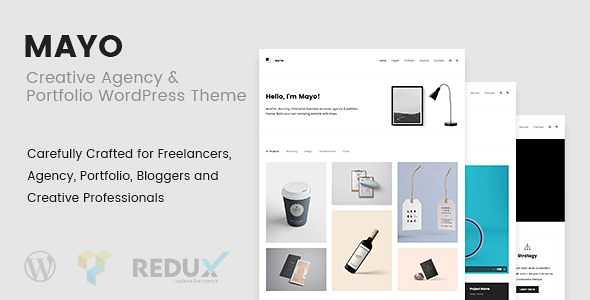 Mayo WordPress Theme free download