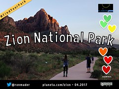 Zion National Park on the Social Web