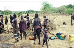 South Sudan 1998: Eastern Equatoria Toposa settlement