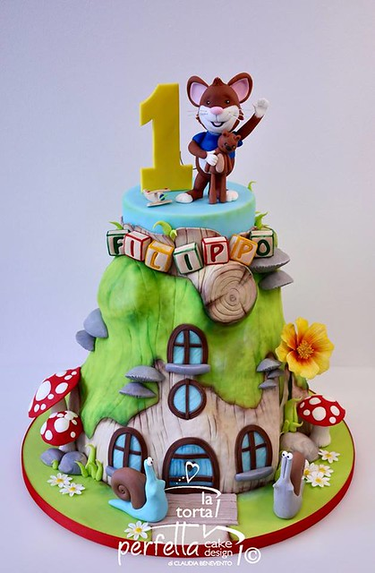 Tip The Mouse Cake by La torta perfetta