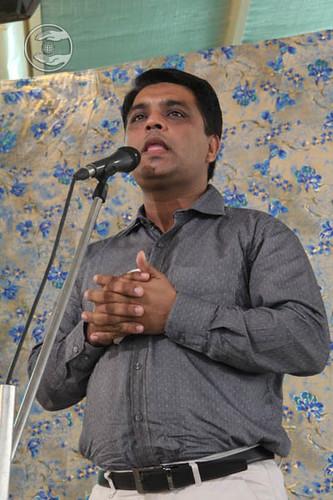 Navin Bhashi from Patel Nagar, expresses his views