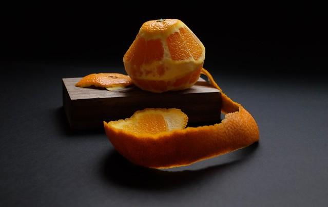 Naranja pelada.....