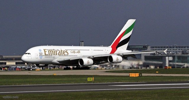A6-EEW Emirates Airbus A380, Canon EOS 7D, Sigma 150-600mm f/5-6.3 DG OS HSM | S