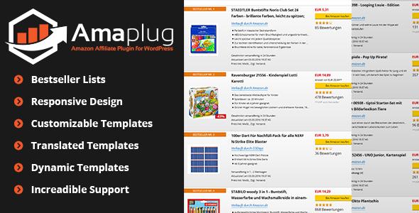 Amaplug v1.4.1.1 - Amazon Affiliate Plugin