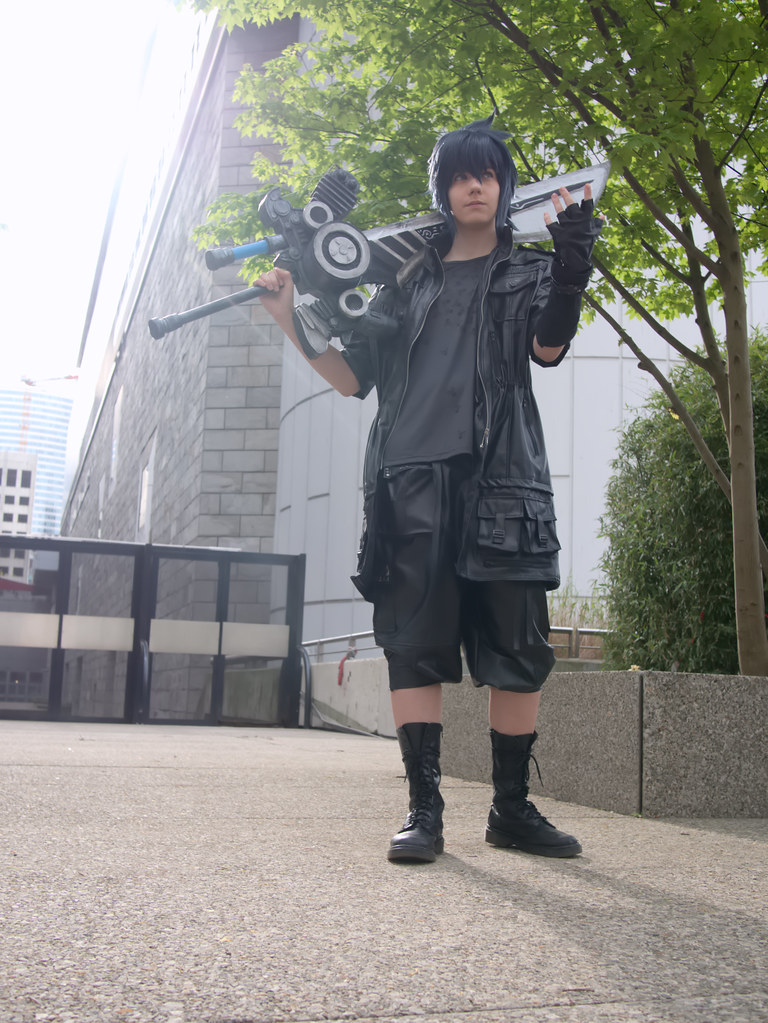 related image - Shooting Final Fantasy XV - La Défense -2017-04-01- P2020915