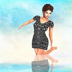 Olga Dress ***Lucky Night***