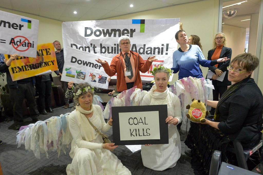 DownerEDI occupation to Stop Adani 12