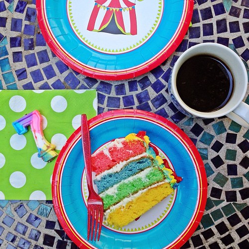 7-15 rainbow cake
