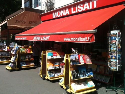Mona Lisait à Paris