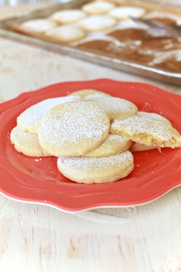 Almond Pillow Cookies 24