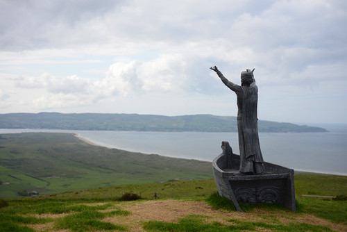 Statue, Top of Mt Binevenagh