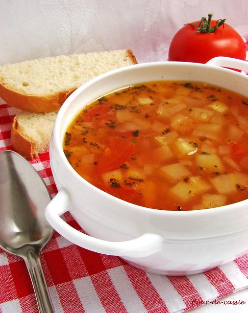 суп из кабачков с томатами CIA 2