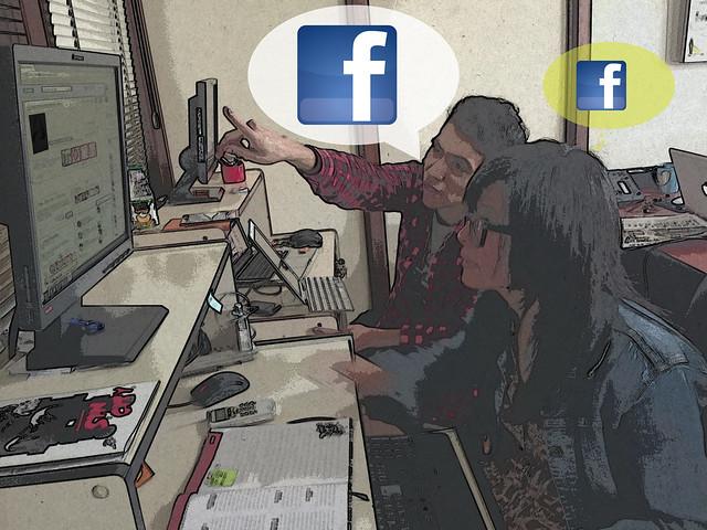Periodistas Facebook