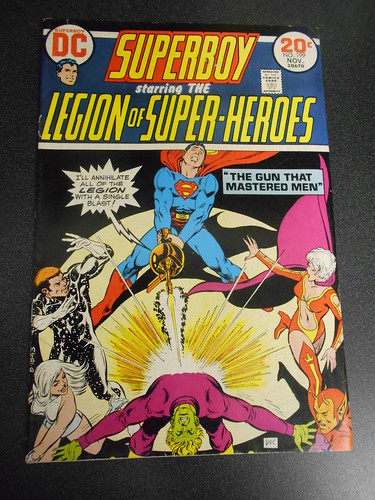 """Superboy starring the Legion of Superheroes"" #199"