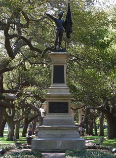 """To the Defenders of Fort Moultrie - June the 28th, 1776"" - Monument dedicated June 28, 1876 - White Point Garden, Charleston, SC"