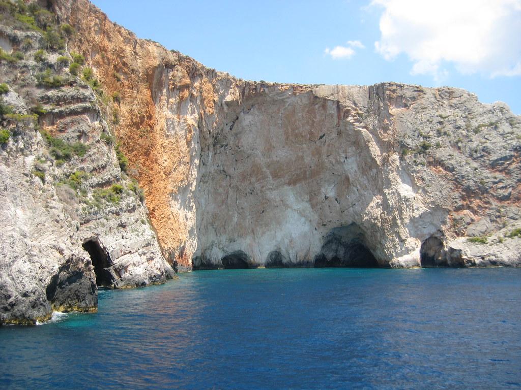 Cueva Azul, Grecia. Foto: Marcus Povey
