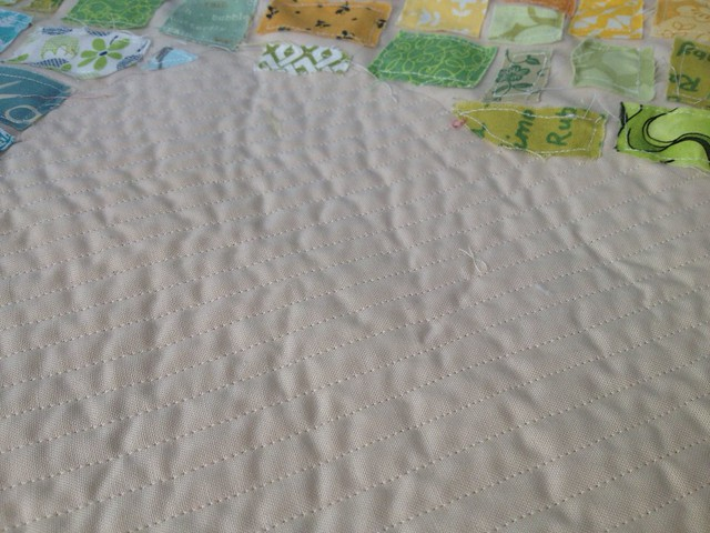 Texas Tickertape Quilting Detail