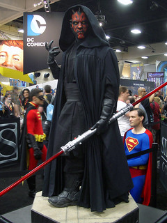 Giant Darth Maul statue 2