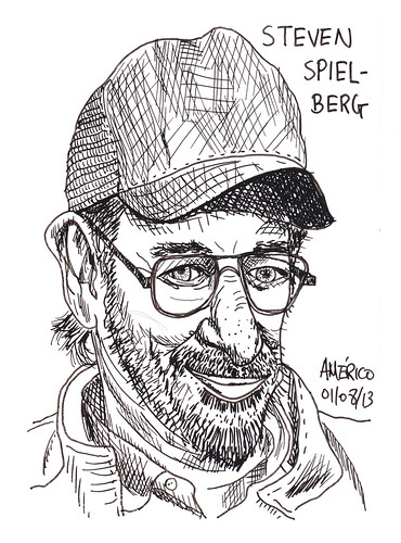 Steven Spielberg, American film director by americoneves
