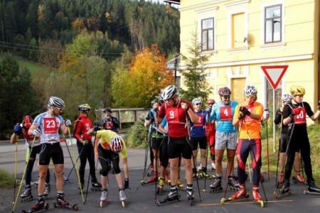 Kolečkové lyže a závody v Čechách