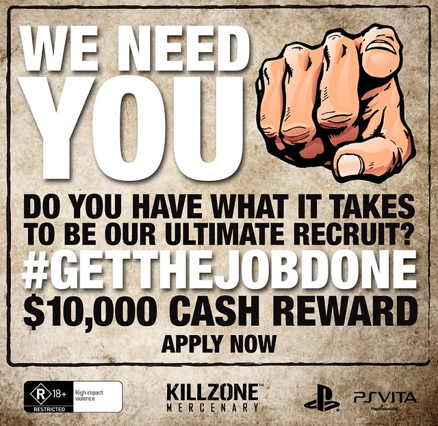 Sony Launches Killzone: Mercenary Ultimate Recruit Competition with $10,000 Reward