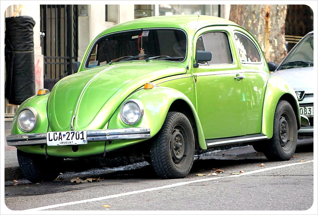 montevideo vw beetle green