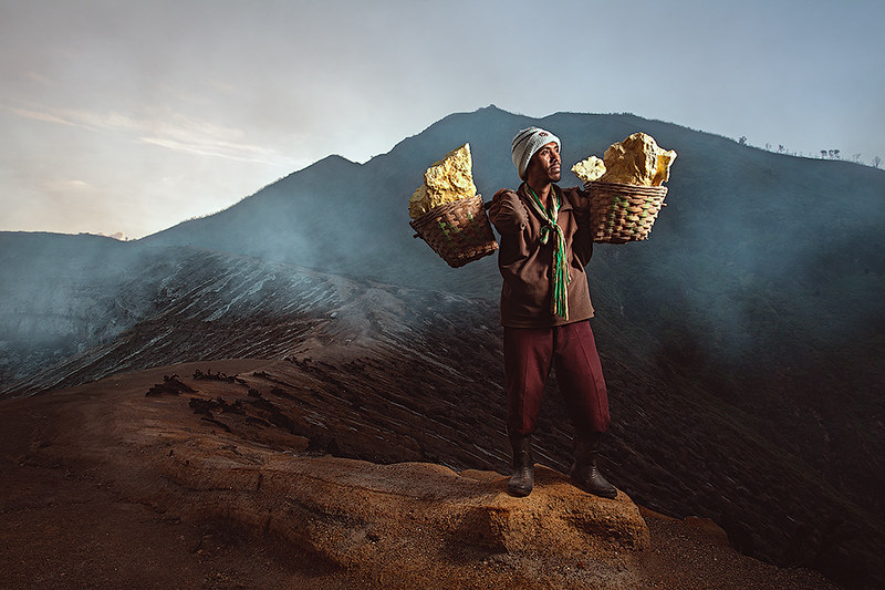 Indonesian miner