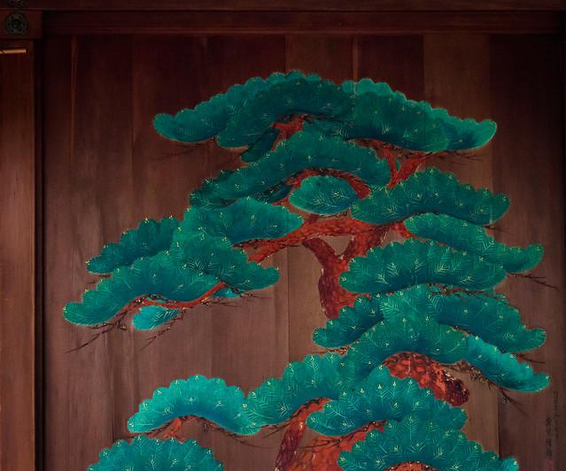 Pine picture@Nakano