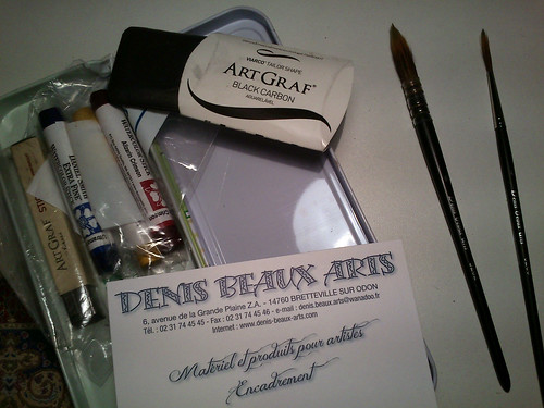 Denis Beaux Arts - fantastic art shop