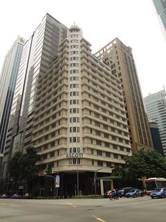 Ascott Raffles Place building