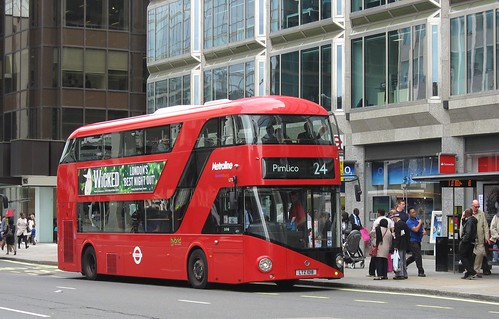 New Bus For London (LT18, LTZ 1018)