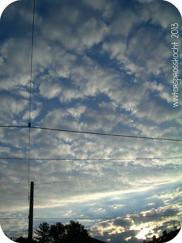 sonntags abstrakt himmel