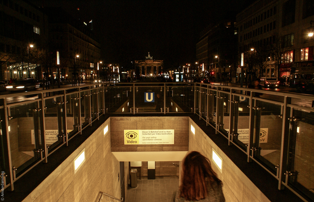 Berlin, U-Bahn Entrance